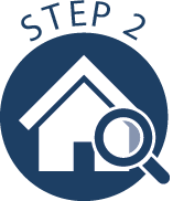 The property search<br>Budget and priority setting